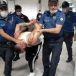 Cezevinden izinli çıktı, araçla bekçiyi ezip polisin ayağını kırdı