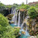 Konya'nın yeşil ve maviyi buluşturan adresi: Yerköprü Şelalesi