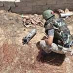Libya'da Hafter milislerinin tuzakladığı patlayıcıları temizleyen Türk kuvvetleri görüntüledi