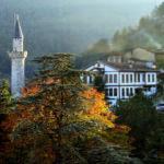 Osmanlı mimarisi konakları ve termalleriyle Sakin şehir Taraklı