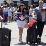 Yabancı turist sayısı yüzde 99.3 azaldı
