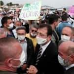 Test için Büyükada'ya gelen Ekrem İmamoğlu protesto edildi!