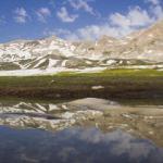 Tunceli dağlarındaki buzul gölleri güzel manzaralar oluşturuyor