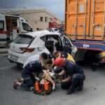 Üsküdar'da feci kaza