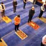 100 gün sonra cemaatle ilk sabah namazı kılındı