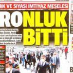 24 Haziran gazete manşetleri