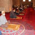 891 yıllık camide 4 ay aradan sonra cuma namazı kılındı