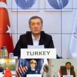 Bakan Selçuk, Türkiye'nin Kovid-19 tecrübelerini G20 ülkelerine anlattı