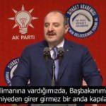 Bakan Varank: Bu kara lekeyi temizlemek Recep Tayyip Erdoğan'a nasip oldu