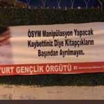CHP'li gençler sınav değil provokasyon peşinde