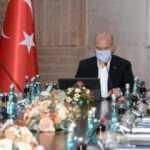 Diyarbakır'da, Bakan Soylu başkanlığında Güvenlik Toplantısı