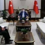 Cumhurbaşkanı Yardımcısı Oktay, TFF Başkanı Özdemir'i kabul etti