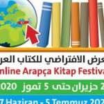 Online Arapça kitap festivali başlıyor