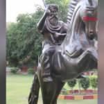 Pakistan'da Ertuğrul Gazi'nin heykeli dikildi