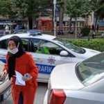 Polisler seferber oldu ama sınava yetişemedi