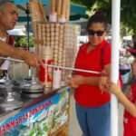 Şaka yapan Maraş dondurmacısını polise şikayet etti