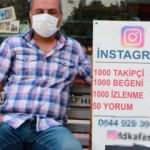 Şaşırtan girişimci: Sokakta tezgah açıp takipçi satıyor