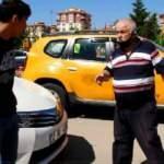 Sınava alınmadı, ücretini isteyen taksiciyle tartıştı