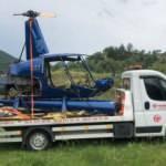 Terk edilmiş helikopter 8 yıl sonra kaldırıldı
