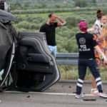 Ünlü şarkıcı Alişan ailesinin de içinde bulunduğu araçla kaza yaptı!