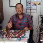 Televizyonun içinden 120 tane kalem çıktı!