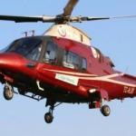 Ambulans helikopter nöral tüp defekti bebek için havalandı