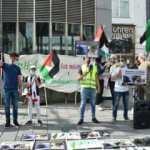 Avusturya'da darbeci Sisi karşıtı gösteri: Katil rejime destek vermeyin