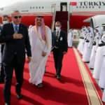 Başkan Erdoğan Katar'da! Dikkat çeken kareler