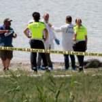 Gölün kenarında korkunç olay: Yamaç paraşütçüleri fark etti