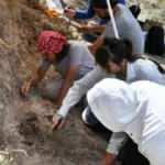Kayseri'de 7,5 milyon yıllık fosillerin bulunduğu alanda yeni kazı çalışması