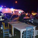 Osmaniye'de aşırı hız kaza getirdi: 3 yaralı