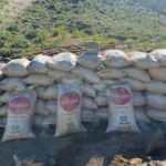 Toprağa gömülü 3 ton suni gübre ele geçirildi