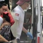 Nefes alamayan oğlunu ambulansa taşıyan babadan yürek yakan feryat!