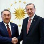Başkan Erdoğan, Kazakistan Kurucu Cumhurbaşkanı Nazarbayev'le telefonda görüştü