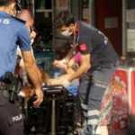 Beyoğlu İlçe Emniyet Müdürlüğü önünde kadına silahlı saldırı