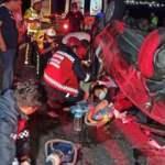 Düğün dönüşü feci kaza: 1 ölü 4 yaralı