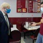 İngiltere Başbakanı Johnson'dan Türk işletmeye ziyaret
