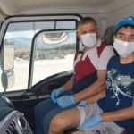 Manisa'da engelli çocuğun 'çöp kamyonuna binme' hayali gerçeğe dönüştü