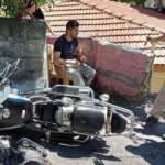 Motosikletle kaza yaptı, ehliyeti olmadığı için ceza yedi