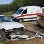 Muğla'da feci kaza: 2 ölü 1 yaralı