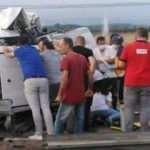 Samsun'da feci kaza! 5 kişi ağır yaralı