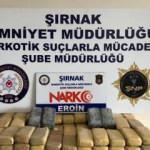 Şırnak'ta 83 kilo eroin maddesi ele geçirildi