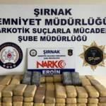 Terörün finans kaynaklarına operasyon: 82 kilo eroin ele geçirildi