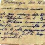 Tren garında şişeye gizlenmiş ve İkinci Dünya Savaşı'na ait mektup bulundu