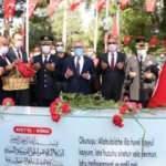 15 Temmuz kahramanı Şehit Ömer Halisdemir kabri başında anılıyor