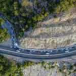 Antalya'da mesire alanı girişinde 2 kilometrelik piknik kuyruğu