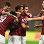Hakan Çalhanoğlu şov yaptı, Milan kazandı!