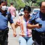 Genç kadının telefonunu çaldı, kaçamadan yakalandı