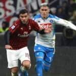 Napoli ile Milan puanları paylaştı!