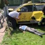 Otomobil ile taksi çarpıştı: 1 ölü 5 yaralı